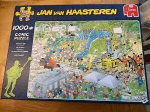 """Jan Van Haasteren 1000 piece jigsaw """"The Film Set"""""""