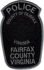 Fairfax County Police Patch Virginia VA NEW