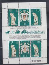 Fiji 1978 Coronation Iguana Sc 384 complete mint never hinged