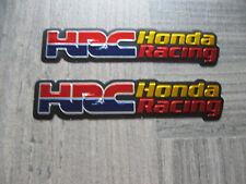 Aufkleber Sticker Honda HRC Racing Tuning Biker FX Motorcross Motorradsport Race