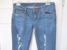 Firefly Denim Jeans Skinny Slim Boot Distressed   Size 3 NWOT    #K7