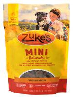 Zukes Mini Naturals Dog Treats - Roasted Chicken Recipe