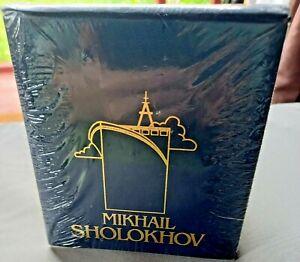 Mikhail Sholokhov Blue Notebook - Notepad And Pencil Gift Set New Sealed
