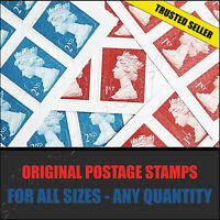 GENUINE 1st 2nd Class Postage Stamps DISCOUNT SALE First Second SMALL LARGE UK