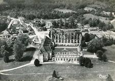 Carte LONGPONT Vue aérienne Le château