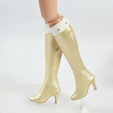 "16""Tonner Doll Ellowyne Wilde/Antoinette Golden 50MM Shoes/Boots Sherry(16-EB-10"