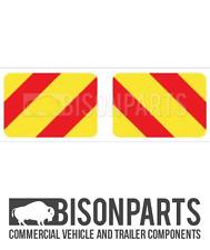 * Camion, CV & Rimorchio Posteriore Indicatore Bordo/puntualizzare (paia) in alluminio BP76-135