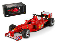 FERRARI F1-2000 MICHAEL SCHUMACHER GP JAPAN ELITE 1/43 BY HOTWHEELS V8379