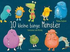 10 kleine bange Monster ???UNGELESEN ° von Markus Reyhani °
