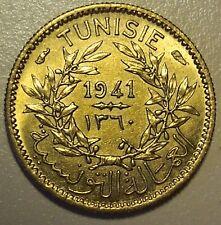 1941 TUNISIA 50 CENTIMES