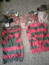 Nigthmare on Elm Street: Freddy Krueger Adult Mens and Women Horror Costume