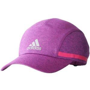 Adidas Climachill Women's Running Cap Sports Cap Running Hat Run Purple/Pink