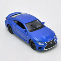 Lexus RC F 1:36 Scale Model Car Diecast Toy Vehicle Gift Collection Blue Kids
