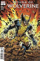 Return Of Wolverine Comic Issue 1 Modern Age First Print 2018 Soule Mcniven