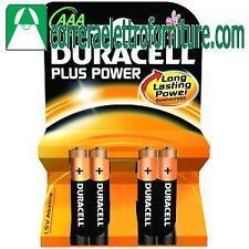 Confezione da 4 pile batterie ministilo 1,5V DURACELL 2400MN