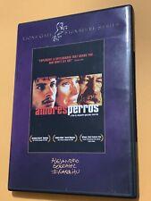 Amores Perros (Dvd, 2003, Signature Series) Director of The Revenant & Birdman