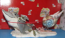 Dolphin Santa's Try Outs Christmas Blue Sky Clayworks Heather Goldminc NIB