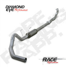 "07.5-12 Diamond Eye Dodge 4"" DPF Race Turbo Back  Exhaust NB W Muffler NO FLANGE"