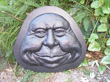 Gostatue close mouth funny face mold concrete mold plaster mold casting mould