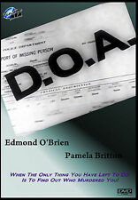 D.O.A. Starring Edmond O'Brien and Pamerla Britton Film Noir Thriller!