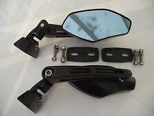 Fairing mount mirrors black universal alloy mirrors multi adjustable 037