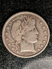 1908-O Barber Half Dollar, Choice Very Fine