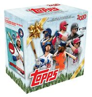 2020 Topps Holiday MLB Baseball Sealed Mega Box Walmart Exclusive IN HAND