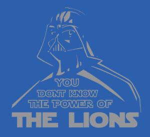 Darth Vader Detriot Lions shirt Star Wars Jared Goff Dan Campbell bite kneecaps