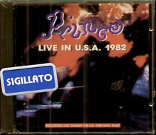 """PRINCE """" LIVE IN USA 1982 """" CD SIGILLATO 1982 ON THE ROAD - RED LINE ITALY"""