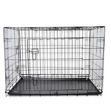 42'' XL Extra Large Metal Foldable Pet Puppy Dog Crate Kennel Cage Enclosure #4