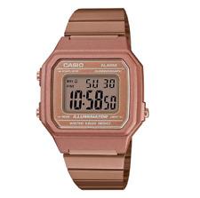 Casio Classic B650WC-5ADF Retro Rose Gold Digital Watch
