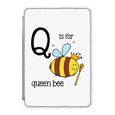 Q Is For Queen Bee Case Cover For Kindle Paperwhite - Funny Alphabet Cute
