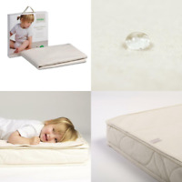 The Little Green Sheep Mattress Protector For Chicco Next2me Baby Nursery Crib
