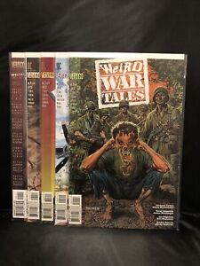WEIRD WAR TALES #'s 1-4 Full Run 1997 + Special Comic 2000 Lot of 5 Vertigo