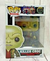 Funko Pop Heroes Suicide Squad KILLER CROC 102 Collectible Figure