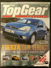 Top Gear Magazine February 2002 MBox2722 Fiesta: Our verdict