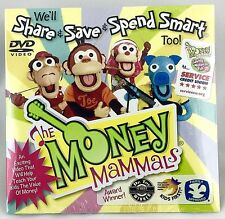 The Money Mammals Music DVD Share Save & Spend Smart Kids Teaches Value of Money