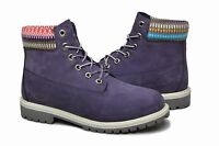 Timberland Boot 6 Inch Premium 9595R Nubuck suede Purple