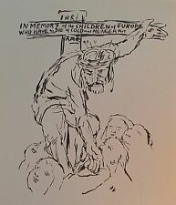 Kokoschka CHRISTUS HUNGERNDEN KINDERN - FRIEDRICH WELZ 2 Kunstdrucke art prints