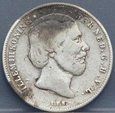 Nederland - The Netherlands 1862 1/2 gulden,halve gulden.Willem 3 Silver. KM# 92
