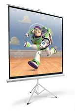 """84"""" Lavolta Écran Projection avec Trépied Portable HD Blanc Mat - 150cm x 150cm"""