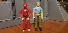New listing Gi Joe 1987 Lot Jinx Chuckles Vintage Hasbro 3.75 Arah