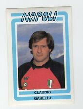 figurina CALCIO FLASH 1988 NUMERO 163 NAPOLI GARELLA