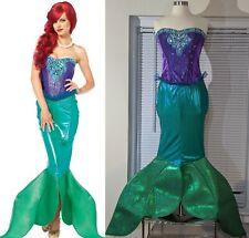 Leg Avenue Mermaid Character Costume W WIG Little Ariel Halloween Fancy Dress L
