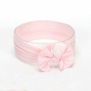 Baby Rabbit Headband Cotton Elastic Bowknot Hair Band Girls Bow-knot Newborn Bow