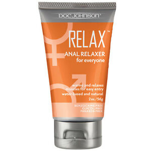 1 RELAX anal relaxer sexual lubricant water based numbing cream