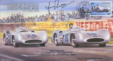 1954b Mercedes Benz W196 optimizada, Reims F1 Cubierta firmado Jimmy Stewart