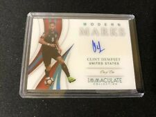 Panini 2019 Immaculate Soccer USA Clint Dempsey Modern Marks Auto 1/1 one of one