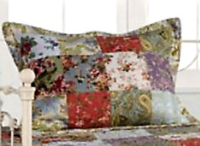 """Blooming Prairie - Greenland Home - One King Size Pillow Sham - 20 x 36"""" New"""