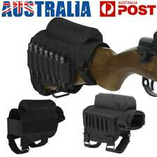 Rifle Bullets Pouch Case Bag Ammo Holder Tactical Hunting Cheek Riser Rest Pad